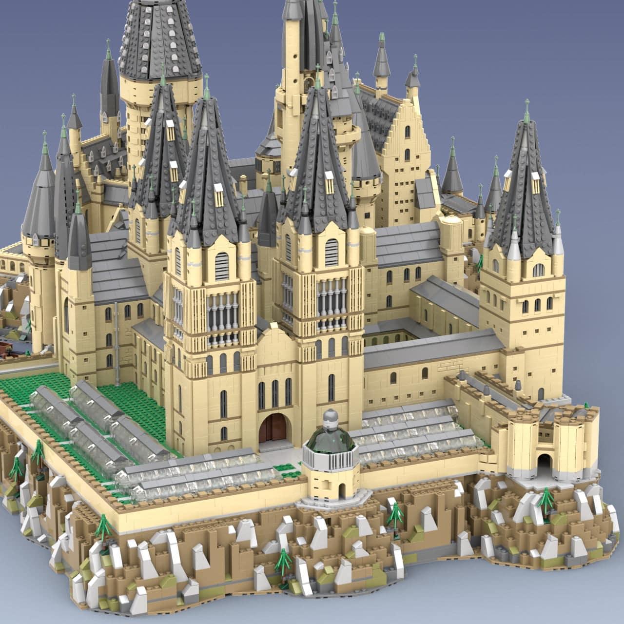 Hogwart's Castle (71043) Extension