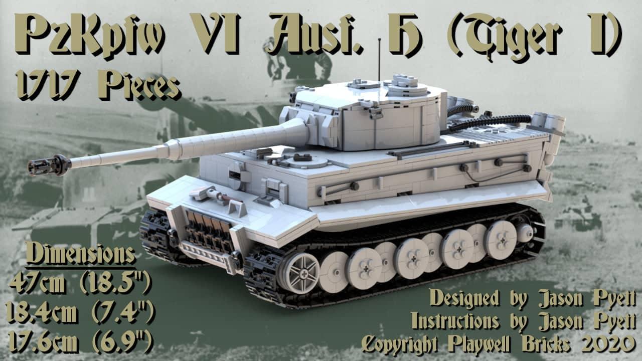 Tiger I Tank (PzKpfw VI Ausf. H)